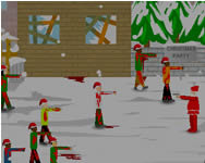 Christmas zombie defence j�t�k